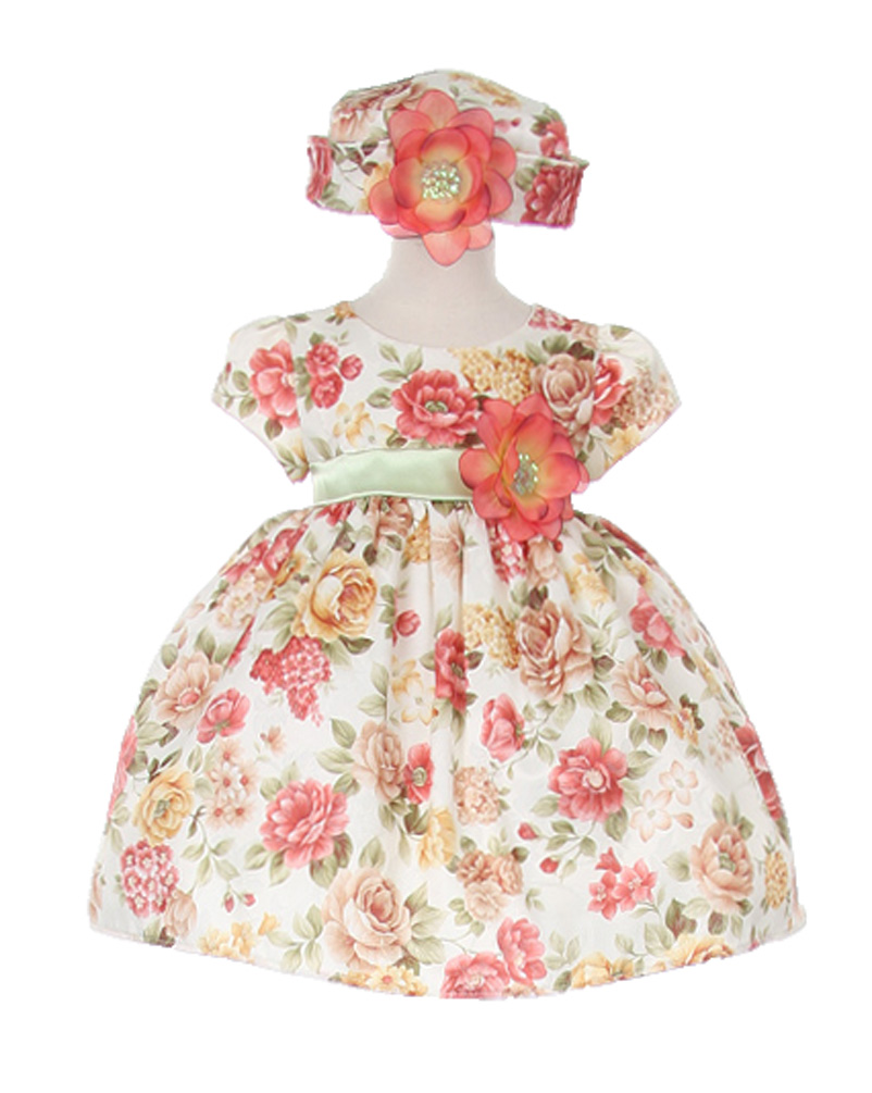 Cinderella Couture Baby-Girls Bountiful Harvest Rustic Jacquard Dress & Hat at Sears.com